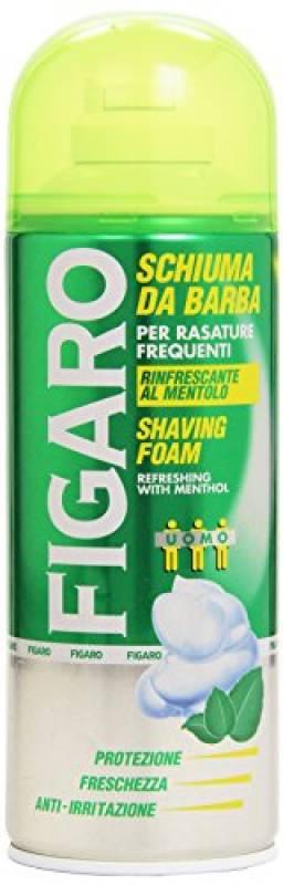 Figaro - Schiuma da Barba, Rinfrescante al Mentolo - 400 ml